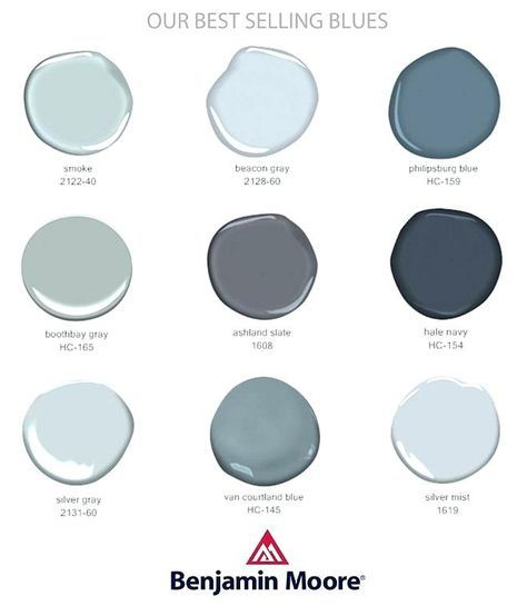 Benjamin Moore Smoke Most Popular Gray Paint Colors By