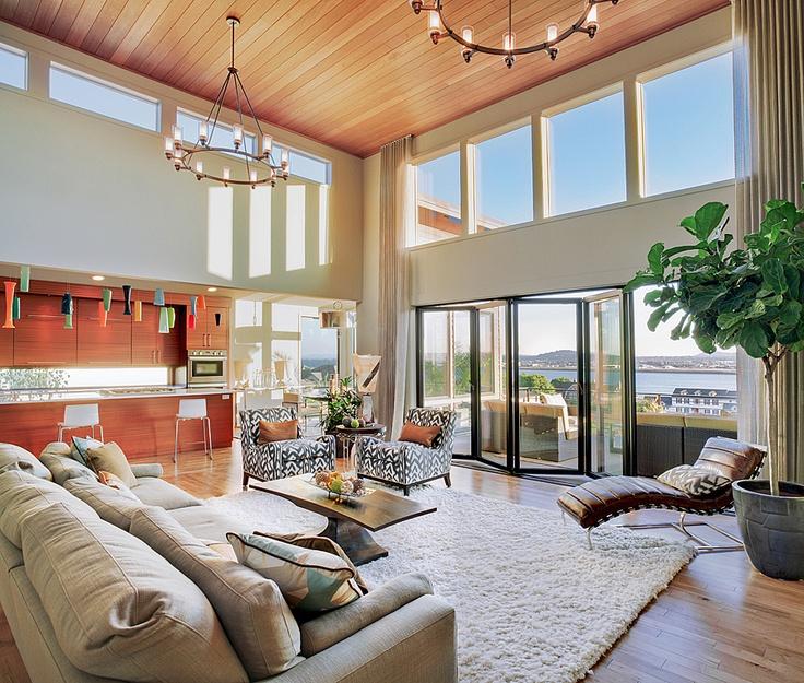 Vidabelo Interior Designs Shannon Ponciano Urban ID Studios Portland Oregon Great room and kitchen