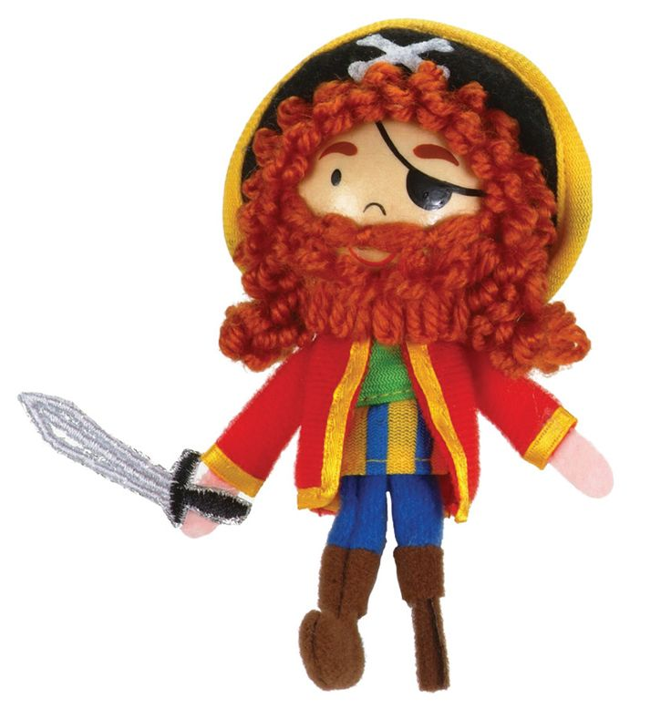 Hours of fun with delightful Long John Silver finger puppets that'll make story telling and pretend play tons of fun!!