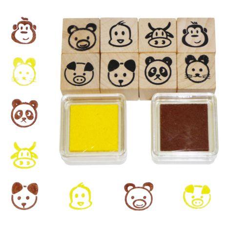 Állatos nyomdakészlet | Pandatanoda.hu Játék webáruház