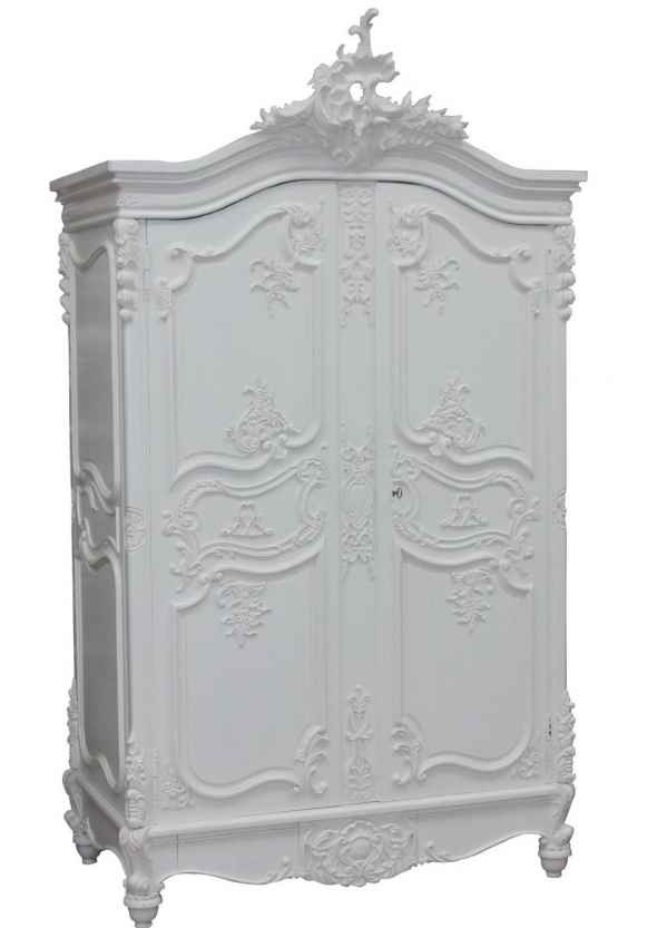 90 best images about armoires on pinterest wardrobes - White french country bedroom furniture ...