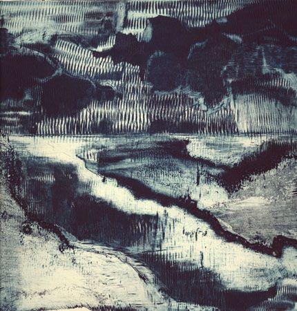 Andreas Funcke    Calco (Radierung)    23 cm x 24 cm
