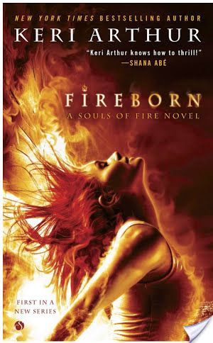 Review ~ Fireborn by Keri Arthur (2014, urban fantasy) :http://booksthathook.com/review-fireborn/