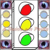 A Saúde em Pauta: Teste de Daltonismo. Deficiência na visão de cores...