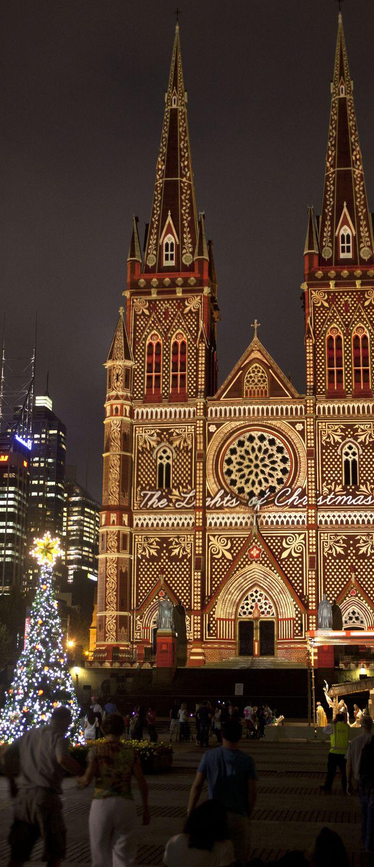Electric Canvas - Showcase - The Lights of Christmas , Sydney Australia