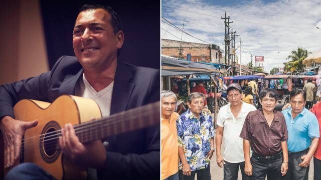 Antoine Tato Garcia - Los Wembler's de Iquitos  le 23 juillet @ Festival Fiest'A Sète 2017 #concert #marseillan #sud