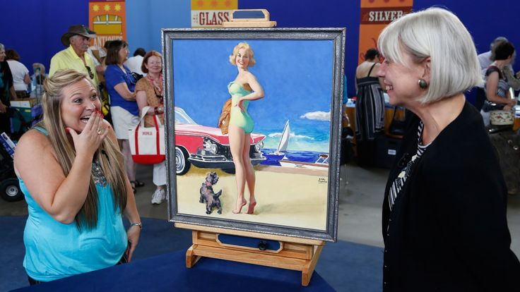 Antiques Roadshow | Boise, Hour 2 Preview: Earl Moran Pinup Painting, ca...