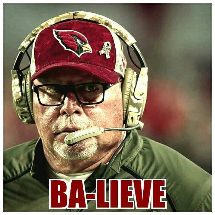 Arizona Cardinals Head Coach Bruce Arians #BirdGang #AZLadyBirds