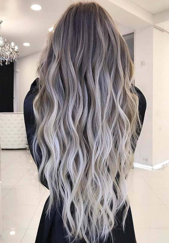 There are various types of balayage hair colors for women to sport for different special functions and celebration. Here you may see and collect best ideas of balayage hair color trends for long waves hair to get most amazing and cute hairs.