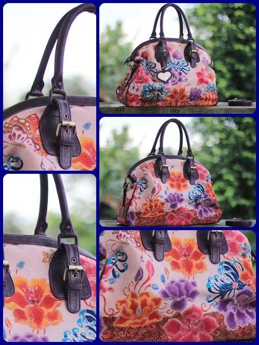 batik hokontul purple bag