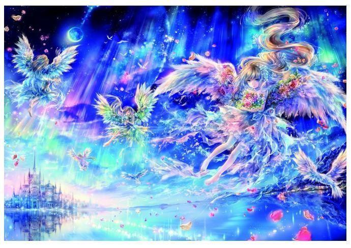 Epoch Jigsaw Puzzle 06-037 Fantasy Art Angels (500 Pieces) [Free Shipping] #Epoch