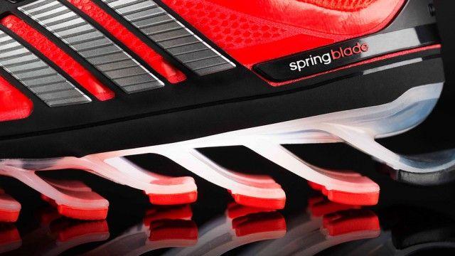 Novo tênis de corrida da Adidas tem sola formada por lâminas