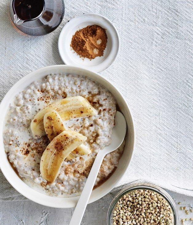 Buckwheat and banana porridge recipe