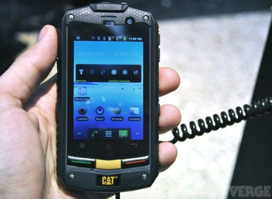 Caterpillar Cat B10, el nuevo Android todoterreno  http://www.xatakamovil.com/p/33681Android Par, Caterpillar Cat, B10 Rugs, Rugs Android, Caterpillar Oo, Launch Cat, Caterpillar Launch, Par Caterpillar, Cat B10