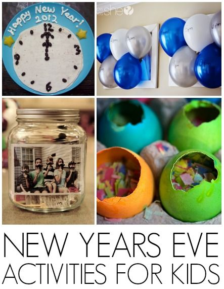 16 New Years Eve kids activities - C.R.A.F.T. Wonderful ways to involve the kiddos in turning of the year! Do you have any favourite New Year's Eve crafts or activities?