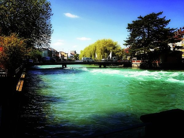Aare River photography by mimulux patricia no