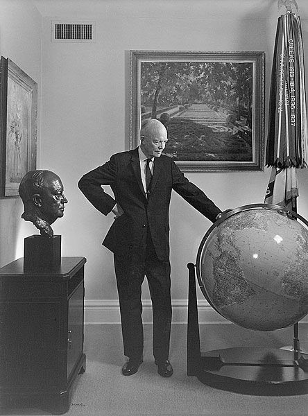 Dwight D. Eisenhower, 1966 isnt American if others cant think ideas that are contrary to ours Dartmouth https://www.wsj.com/articles/mccarthyism-at-middlebury-1489016328