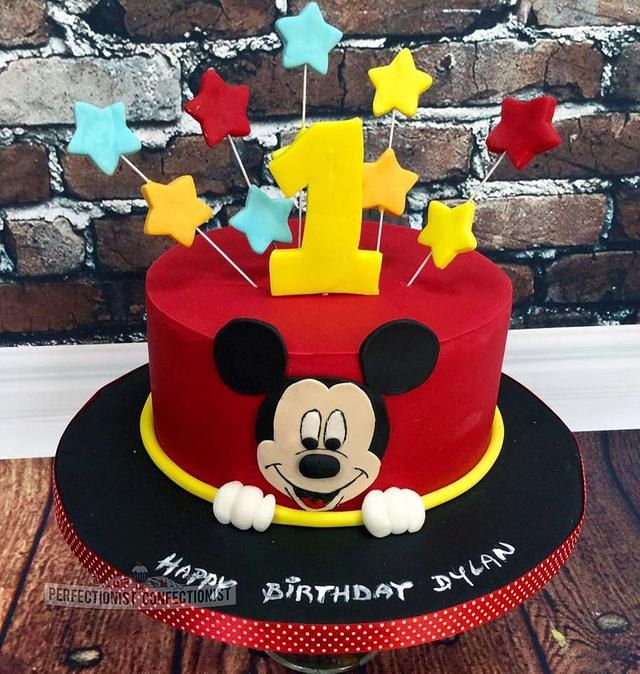 Pin On Mickey Mouse Birthday Party