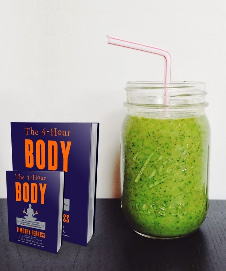 Great healthy tips and recipes on this site, including the 4-hour body shake with 30 g of protein.