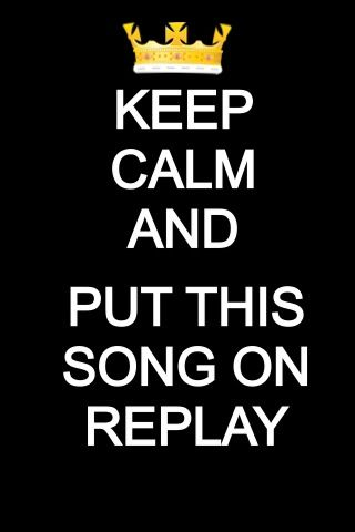 Keep calm and put this song on replay   Replay by Zendaya is available on iTunes!