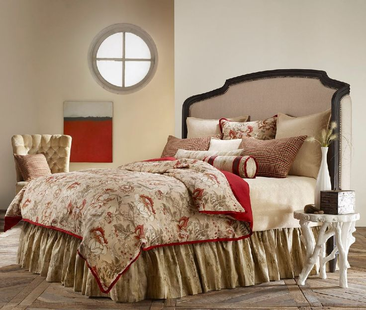 Montana Lodge Inspired Western with Warm Neutrals in Floral Tweed and Faux Boise Duvet Cover Bedding Collection by Mystic Valley Traders