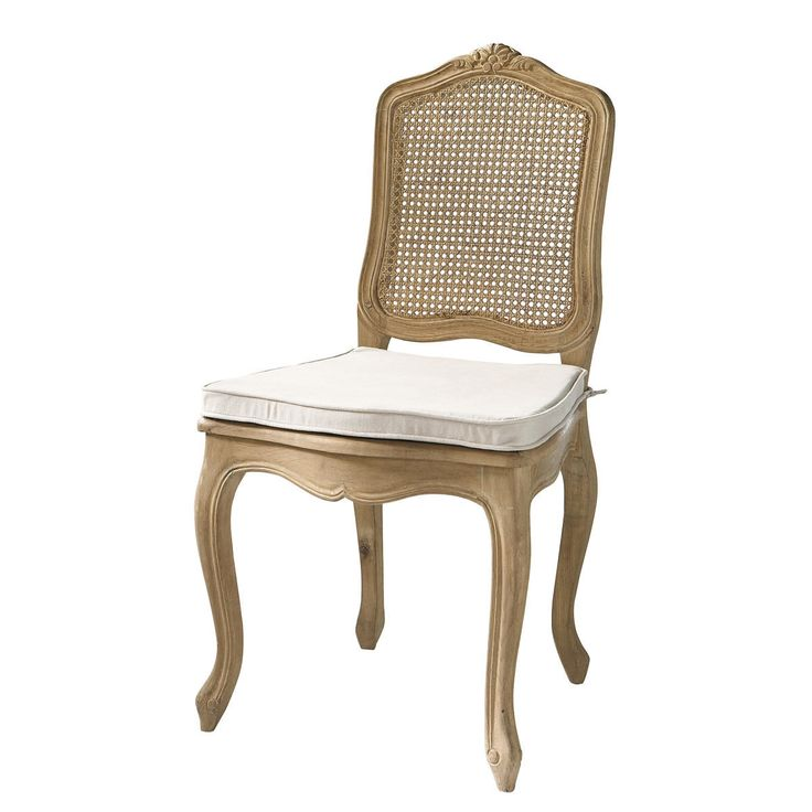 Sedia impagliata in massello di quercia Gustavia