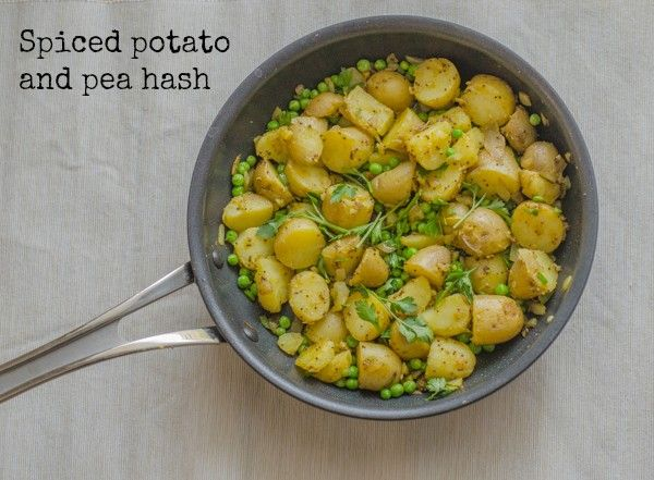... Potato Hash Browns with Peas | Recipe | Potato Hash, Hash Brown