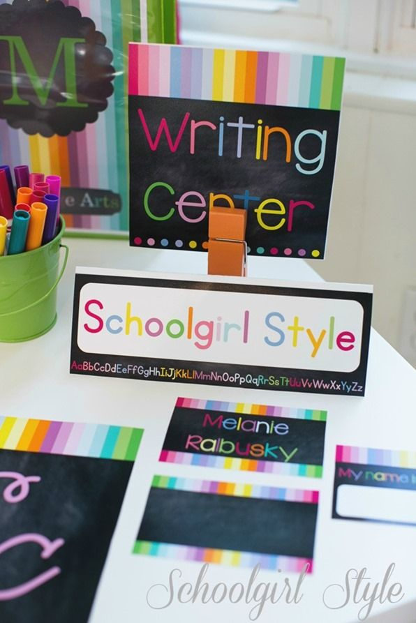 Classroom Chalkboard Ideas ~ Best images about rainbow classroom idea on pinterest