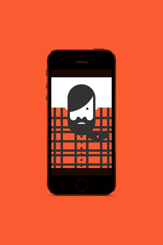 Forma & Co — Re-Vision App Flannel Hipster Illustration