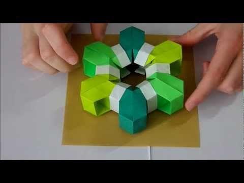 Origami Tutorial: Summer's Snowflake (Martin Sejer Andersen) - YouTube