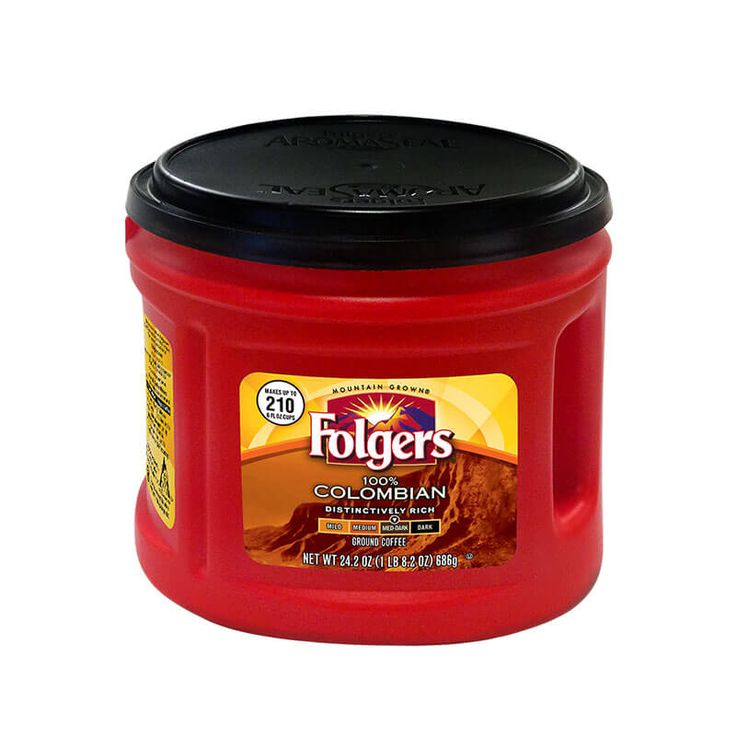 100% Colombian Coffee – Folgers Coffee