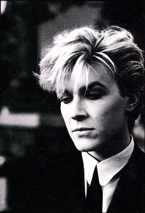 David Sylvian of the early 80s band Japan. He was once voted the world's most beautiful man