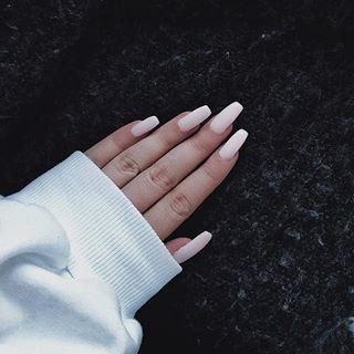 🐷 #semilac #nails #semilacnails #longnails #biscuit 032 💅🏼 #hybridnails #girlstuff #l4l #f4f #picoftheday #instapic