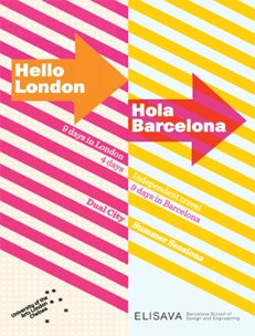 London and Barcelona are both world-famous for art and design. They are exciting international cities that attract visitors from all around the world, enticed by the rich heritage and cool contemporary culture of the cities and their creative practitioners. Whether you are interested in fine art, design, retail, media or history there is Summer course here for you    http://www.chelsea.arts.ac.uk/dual-city-courses/london-barcelona/