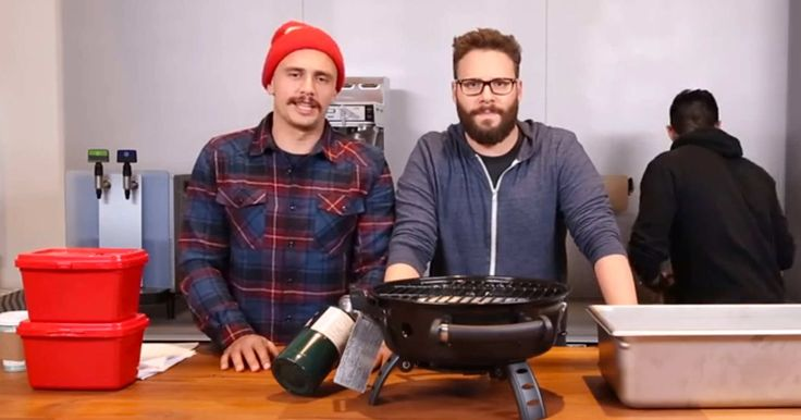 James Franco's Latest Project: Making Korean Barbecue Lasagna With the Epic Meal Time Guys