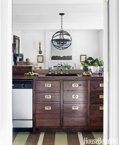 Best 25 dark oak cabinets ideas on pinterest staining for Can you paint non wood kitchen cabinets