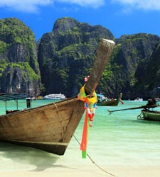 Phi Phi Islands, Thailand    I'm so close. I pray for those in the south of Thailand. 4/12/12