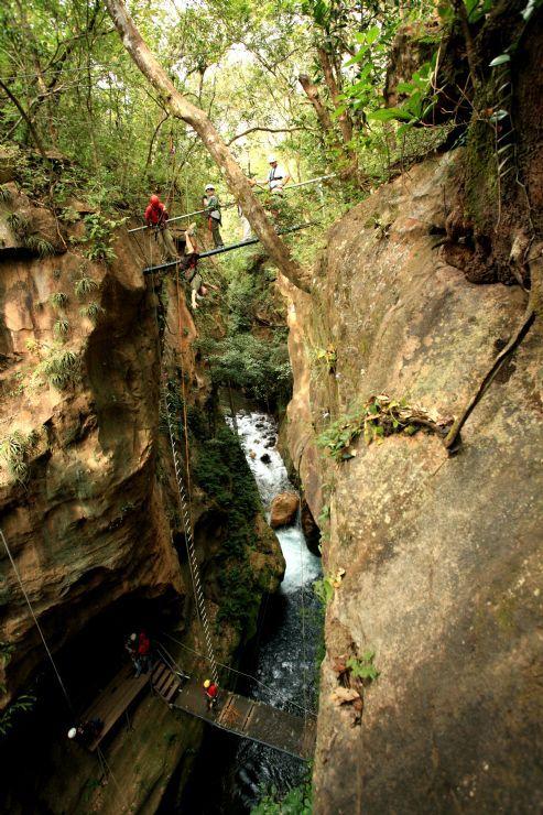 Canyons over Rio Grande near Rincon de la Vieja - http://www.govisitcostarica.com/region/city.asp?cID=372