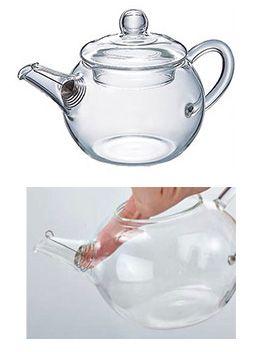 Glass Tea Pot Round | Buy Tea Online | LUPICIA Australia