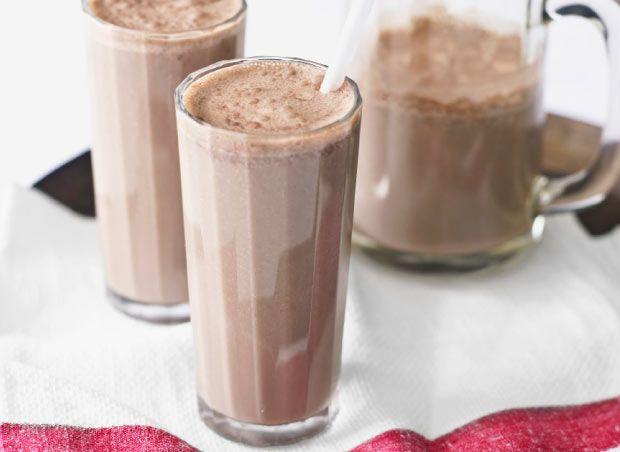 Low GI- Banana and chocolate shake