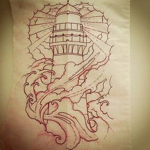 96 best images about lighthouse tattoo on pinterest old