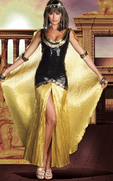 Stunning Sexy Cleopatra Costume For Women
