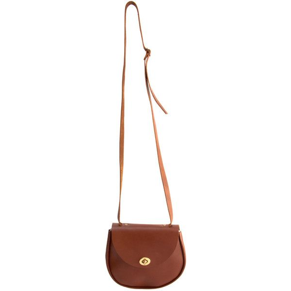 Leather Cross Body Satchel ($58) ❤ liked on Polyvore featuring bags, handbags, shoulder bags, accessories, bolsas, leather satchel, leather purses, handbag satchel, leather satchel purse and leather crossbody handbags