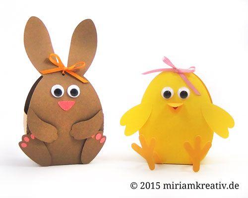 Oster-Geschenkverpackungen mit freiem Download für die Schneidedatei von Miri's Kreativblog