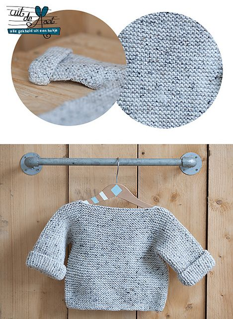 One Piece Baby Sweater Knitting Pattern : 17 Best images about Baby Knits - Free Patterns on Pinterest Knitted baby, ...