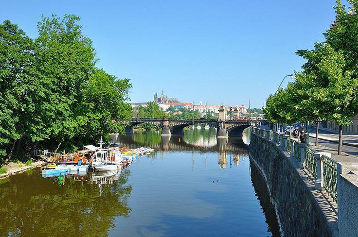 Prague : Legíí ostrov  ( bridge )