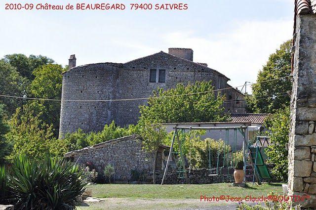 Villages et hameaux chateau de Beauregard, Saivres