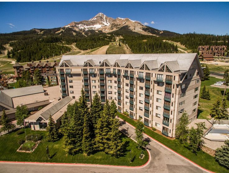 Shoshone Condo Hotel With Lone Peak In Background Sky Resort Mt