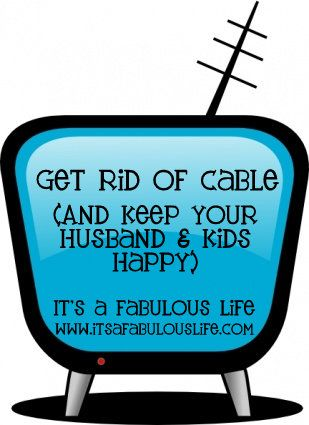 Get Rid of Cable & Still watch your favorite shows!  Most have free trials!  PLUS - check out the pros and cons of each service available!! #itsafabulouslife