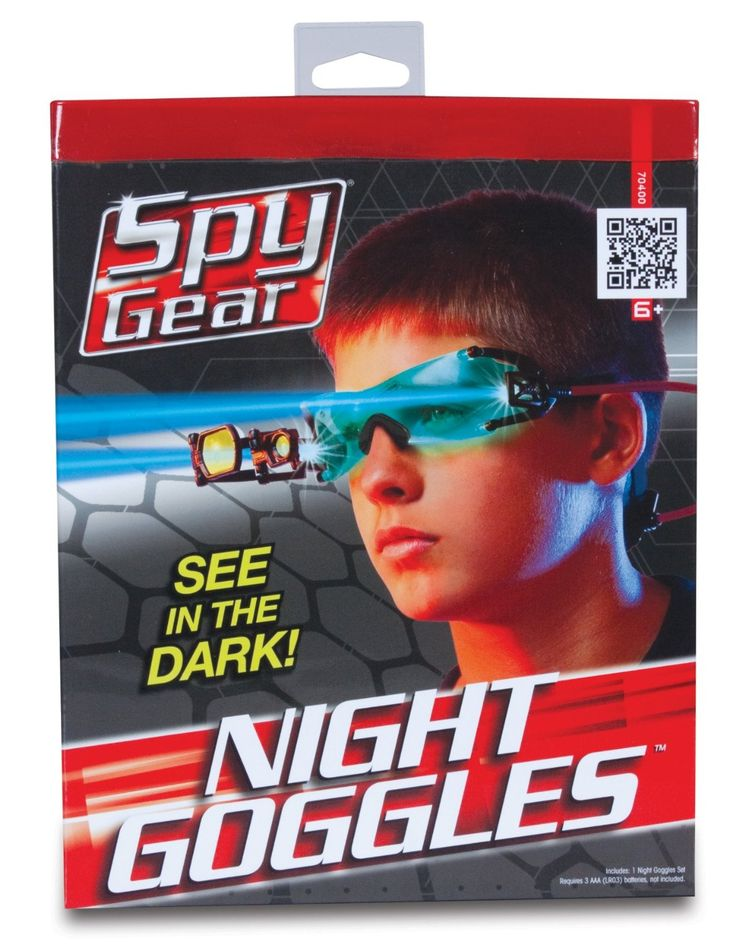 Spy Gear Spy Night Goggles Spy gear, Goggles, Blue lenses